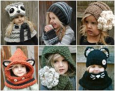 Knitted Hats and Cowls