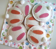 Hey, I found this really awesome Etsy listing at https://www.etsy.com/listing/184397313/set-of-four-rabbit-felt-coaster-with