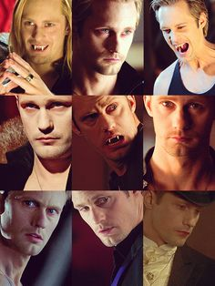 The many faces of Eric :P My favorite is when he is caring and has no memory lol