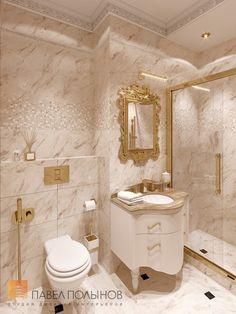 Фото санузел в детской из проекта «Дизайн четырёхкомнатной квартиры 200 кв.м. в классическом стиле, ЖК «Премьер Палас»»