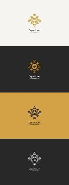 Organic Art Logo. Logo Templates. $29.00