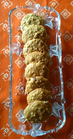 Pumpkin Seed Oatmeal Cookies @Debra Eliotseats