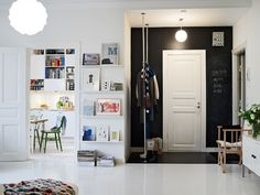 IKEA SPOTTED // RIBBA picture ledge, STOLMEN clothing storage system, IKEA PS cabinet in white