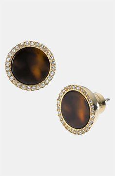 MICHAEL Michael Kors Michael Kors 'Brilliance' Stud Earrings available at #Nordstrom