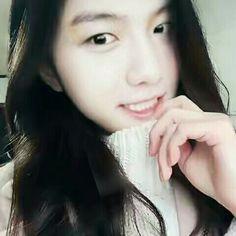 Selca Baekhyun girl version he is so cute >.< #baekhyun #girl #gs #genderswitch #exo #cbx #bini3bangsat