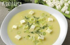 leeks and cheese soup
