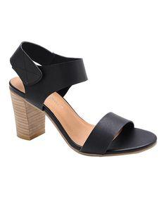 Look what I found on #zulily! Black Tilda Sandal #zulilyfinds