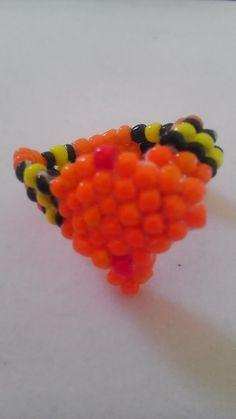 Orange Snake Ring