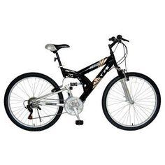 Titan 26 in. Punisher All Terrain Mountain Bike - 128-0218, Durable