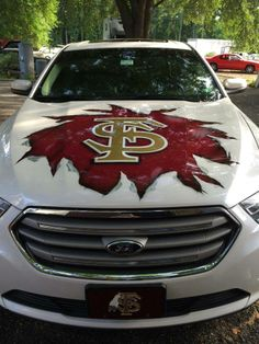 Would love to have this on my vehicles.HERE YOU GO JESSIE...FSU.. ON YOUR CAR