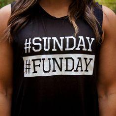 Sunday Funday Tank $13.00
