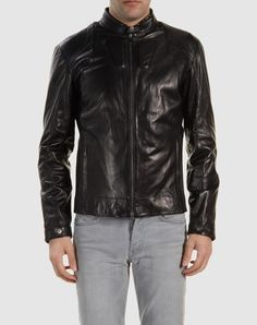 ZEGNA SPORT  Leather outerwear