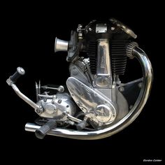 NO 9: CLASSIC BSA B33 MOTORCYCLE ENGINE by Gordon Calder, via Flickr