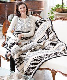 Dottie Throw Free Crochet Pattern from Red Heart Yarns