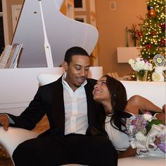 JUST MARRIED: Ludacris & Eudoxie WED...RIGHT After Getting Engaged! [First Pics!]- http://getmybuzzup.com/wp-content/uploads/2015/01/407525-thumb.png- http://getmybuzzup.com/ludacris-eudoxie-wed/- By Natasha Well look who's married. Yep. Ludacris & Eudoxie rang in 2015 as Mr. & Mrs. Bridges. Deets and their first pics as a married couple inside….  They got engaged less than two weeks ago (a couple of days after Christmas) high in the skies. And they&#8