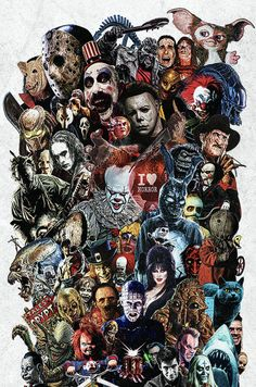 Horror Movie 'Icons' Poster - 12 x 18