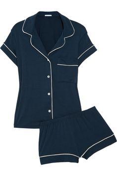 EBERJEY  Gisele stretch-jersey pajama set  $105