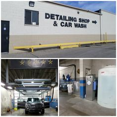 Get your car detailed at Mike Riehls.