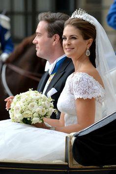 Magdalena de Suecia y su esposo Chris O´Neill
