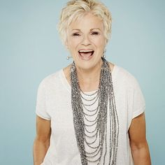 'If everyone had facelifts, there would be no one to play the old people.' Julie Walters