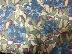 ハンドメイド リバティプリントタナローン紫陽花柄アジサイ柄 Handmade liberty fabrics ¥9500yen 〆03月30日