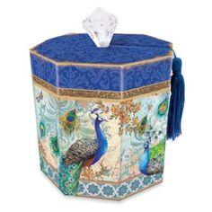 Toilet Tissue Holder in Royal Peacock - BedBathandBeyond.com