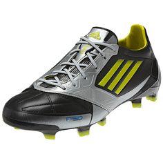 6de785284d5 adidas F50 adizero TRX FG Soccer Shoe (Leather)  V21434  Black Lab  Lime Metallic Silver -  189.00 Save  10% OFF