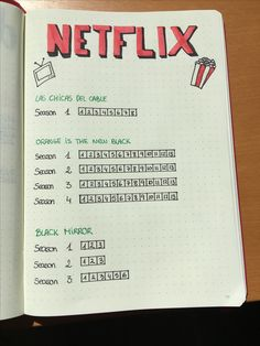 Netflix show tracker