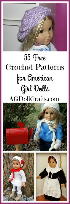 Do you love to crochet for American Girl dolls? From clothes to accessories, we…