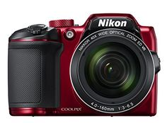Nikon COOLPIX B500 Digital Camera (Red), 2016 Amazon Hot New Releases Point & Shoot Digital Cameras  #Photography
