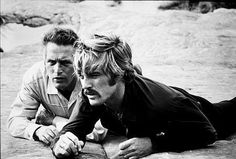 butch cassidy and the sundance kid aka paul newman and robert redford