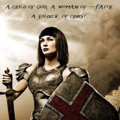 Remember who I am --- CHILD OF GOD - woman of faith - soilder of Christ