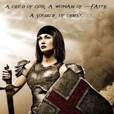 Remember who I am --- CHILD OF GOD - woman of faith - soilder of Christ