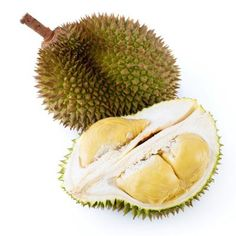 """Durian  Native to Asian countries like Brunei, Malaysia, and Indonesia, durian is not easy to find. The fruit, which has been dubbed the """"King of Fruits,"""" tastes divine. Its smell, on the other hand, leaves little to be desired. """"It has a very distinct odor—much like a skunk or sewage,"""" says Beth Aldrich, certified nutritionist, healthy lifestyle counselor, and author of Real Moms Love to Eat: How to Conduct a Love Affair with Food and Still Look Fabulous."""""""