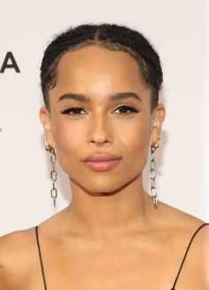 Zoe Kravitz Is About to Give You Serious Ear Piercing Envy  from InStyle.com