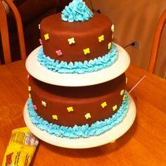 Friendly birthday cake