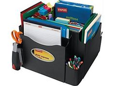 This would be such a plus for organizing my desk for our homeschool. :)