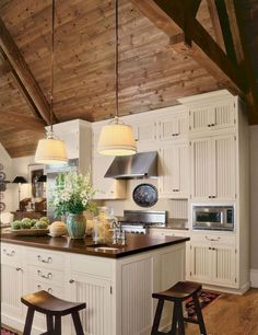 90 pretty farmhouse kitchen cabinet design ideas (29)