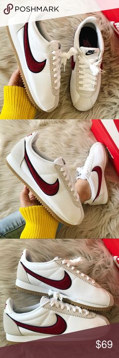 8cf34f2f3 NWT Nike classic cortez new with box Price is firm. White  red. Nike