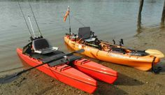We talk with the inventor of the Biyak Aaron Baldwin and go over his adjustable kayak and pedal drive system.