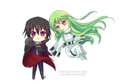 -- Chibi Code Geass comission -- by Kurama-chan on @DeviantArt