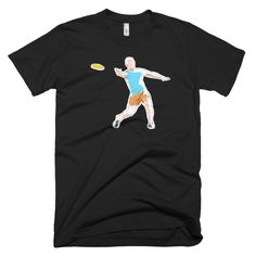 Disc Golf Throwing Doodle - Funny Disc Golf T Shirt