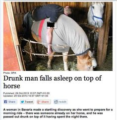 The 40 Dumbest Things Drunk Men Have Ever Done