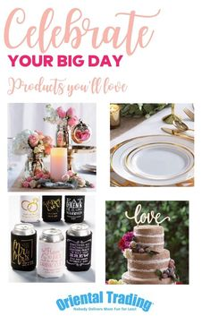 Celebrate your big day with great deals on wedding favors and decorations. Wedding Supplies, Wedding Favors, Wedding Reception, Wedding Decorations, Wedding Ideas, Table Decorations, Best Amazon Buys, Amazon Gifts, Oriental Trading