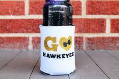 Iowa Hawkeyes Koozie - $15.00