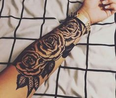 Tattoos And Their Meanings - Roses