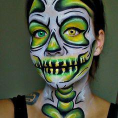 Halloween makeup tutorials www.youtube.com/empressmakeup