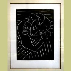 Henri Matisse Linocut from Pasiphae