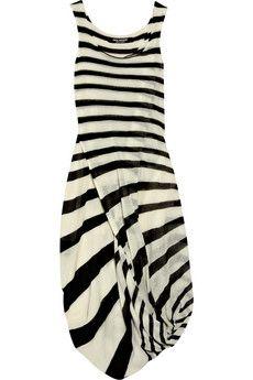 Junya Watanabe | Striped wool jumpsuit | NET-A-PORTER.COM