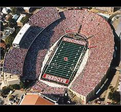 Madison, Wisconsin - Camp Randall (Wisconsin Badgers)